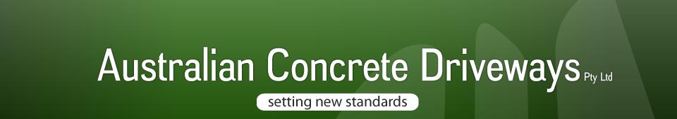Australian Concrete Driveways